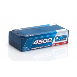 Batteria LRP LiPo Shorty P5 4500Mah 7,4v 110/55C 1/10