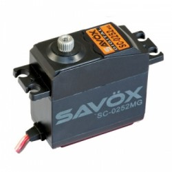 Savox SC-0252MG Metal Gear Servo Digitale 10,5kg 0,19sec