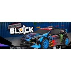 HPI Micro RS4 Ken Block Ford Fiesta 1/18 4wd RTR