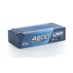 Batteria LRP LiPo Shorty Stock Spec P5 HV 4600Mah 7,6v 120/60C Graphene