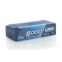 Batteria LRP LiPo Shorty Stock Spec P5 HV 6000Mah 7,6v 120/60C Graphene