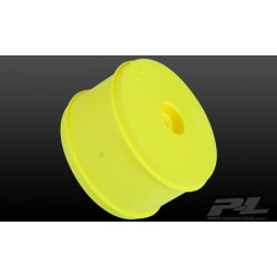 Cerchi PL Velocity VTR 2.4 post. gialli 1/10 Buggy Hex 12mm (2pz)
