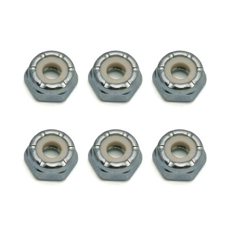 Dado autobloccante 8-32 Low-Profile (6pz)