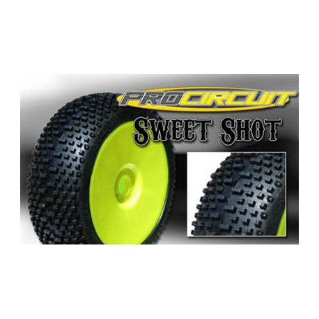 Gomma ProCircuit Sweet Shot incollata Green Soft (4pz)