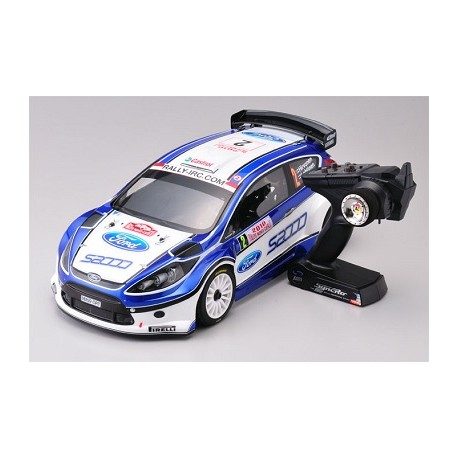 Kyosho DRX VE Ford Fiesta S2000 4wd Readyset EP