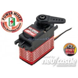 Servocomando Hitec HSB-9360TH Brushless High Voltage