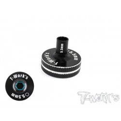 Chiave a tubo 5,5mm corta T-Works Nera