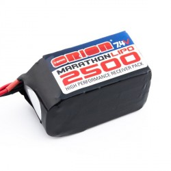 Batteria Team Orion Marathonb Hump LiPo RX 7,4V 2500MaH