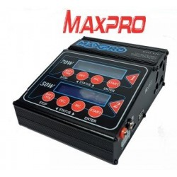 Caricabatterie MaxPro Dual 120 AC/DC