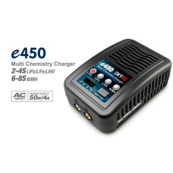 Caricabatterie SkyRc e450 4AMP 50Watts LiPo LiFe LiHv NiMh