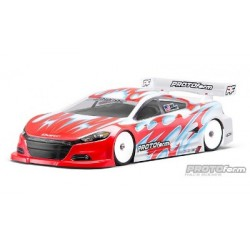 Carrozzeria 1/10 190mm Protoform Dodge Dart Light Trasparente