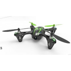Drone Hubsan X4 Camera HD colore Nero e Verde
