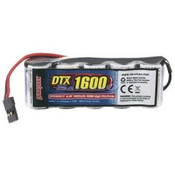 Pacco Batterie RX 6V 1600Mah NiMh 2/3A in linea