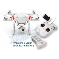 Phantom 2 Vision Plus con batteria extra