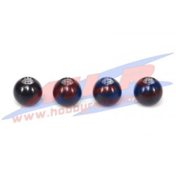 Pivot ball in ergal duro D.14mm Crono SP9 - SPX - DB7 - DBF (4pz)