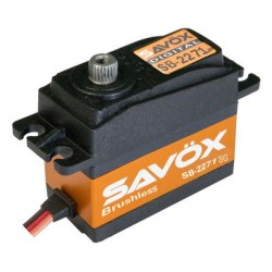 Savox SB-2271SG Digital Brushless High Voltage 7,4V 20kg 0,06sec