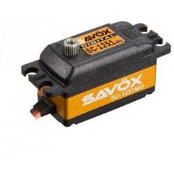 Savox SC-1251MG Servo Digitale Low Profile 9kg 0,09sec
