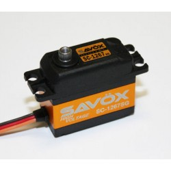 Savox SC-1267SG Digital High Voltage 7,4V 20kg 0,095sec