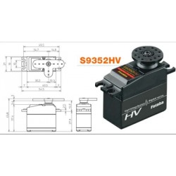 Servo Futaba S9352HV High Voltage System