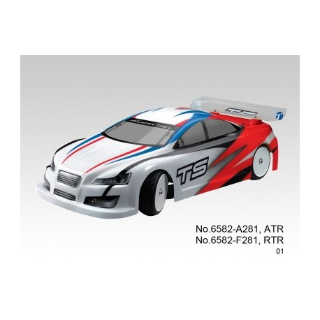 TS4E Touring 1/10 4WD Brushless RTR Magenta
