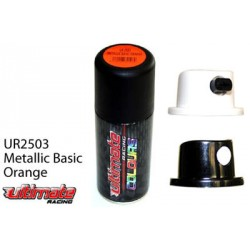 Vernice spray x lexan 150ml Arancio Metallizzato