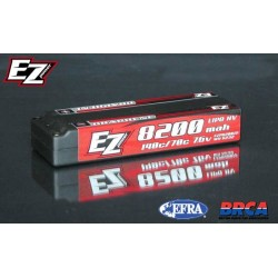 Batteria EZ Power LiPo Graphene 2S 8200Mah 7,6v 140/70C