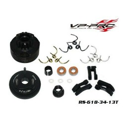 Kit frizione completa Off-Road 34mm con campana 13T VP-Pro