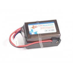 Batteria LiPo Intellect RX-TX 7,6V - 2600Mah Hump
