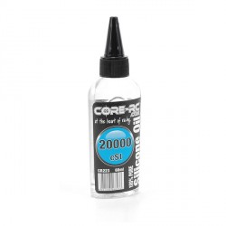 Olio al silicone differenziali CoreRc 60ml 20.000 CST 20K