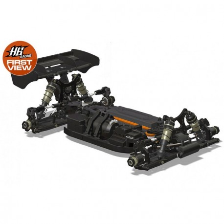 HB Racing E819RS 1/8 Buggy 4wd  Electric Kit